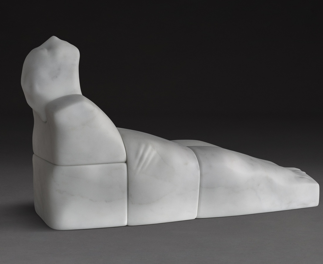 <p>Before Sunrise, White Statuary - Marble of Carrara,&#160;28 x 83 x 48 cm, 2017</p>